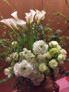 本日お届けしたお花です
